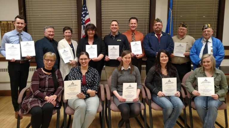 2018 Fall Lancaster Community Fund Grant Recipients